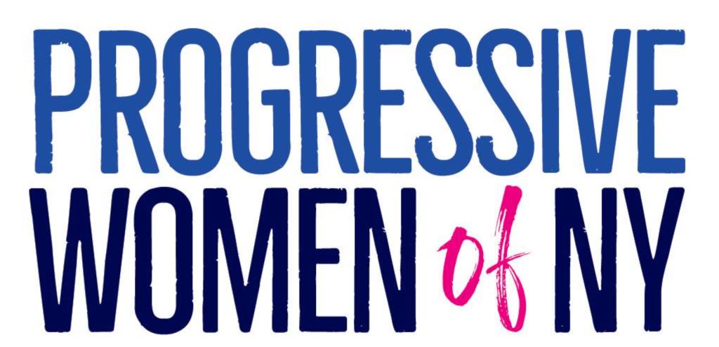 Logo for Progressive Women of NY